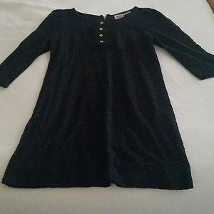 Juicy Couture Black Lace Dress